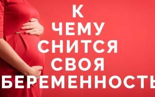 К чему снится твоя беременность сонник