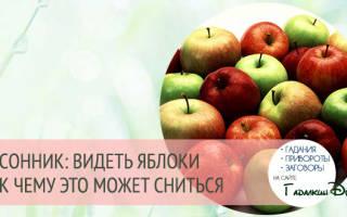 Сонник толкование яблоки