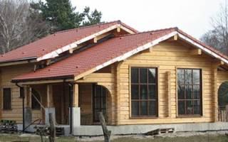 Сонник большой деревянный дом