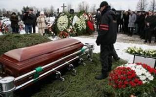 Сонник к чему снятся собственные похороны