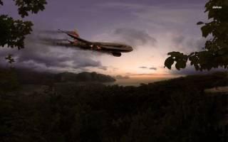 Сонник самолет падает