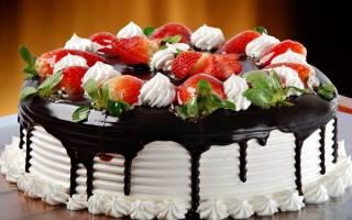 Сонник большой торт