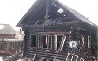 Сон сгорел дом сонник