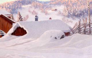 Сонник много снега сугробы