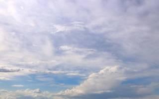 Сонник трогать облака руками