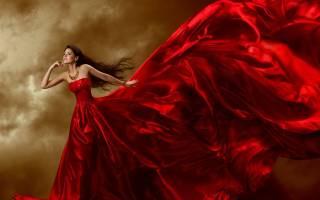 Сонник видеть себя в красном платье