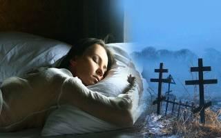 К чему снится кладбище и покойники сонник