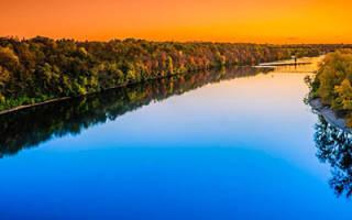 К чему снится река сонник