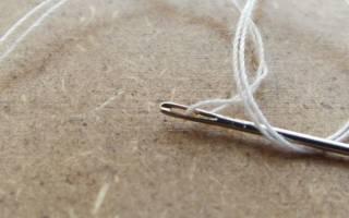 Иголки с белыми нитками сонник