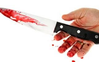Сонник человек в крови
