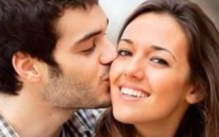 Мужчина целует в щеку во сне сонник