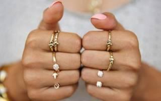 Сонник кольцо на руке