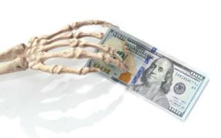 Во сне покойный муж дает деньги сонник