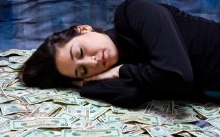 К чему снится найти много денег сонник