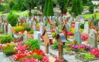 Видеть во сне могилу умершего сонник