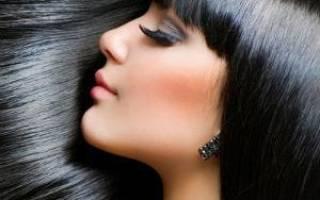 Сонник длинные черные волосы
