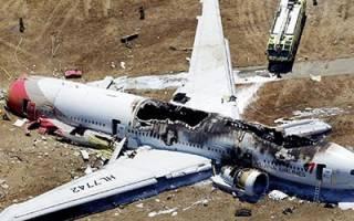 К чему снится упавший самолет возле дома сонник